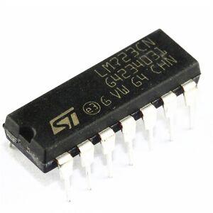 Voltage Regulator 2-37V 5PCS LM723CN LM723 NSC//ST DIP-14 IC Adj