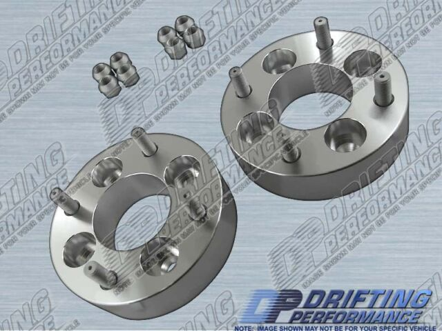 """Universal 1.5"""" (38mm) Wheel Adapters Spacers 4x100 to 4x114.3 Conversion 12x1.5"""