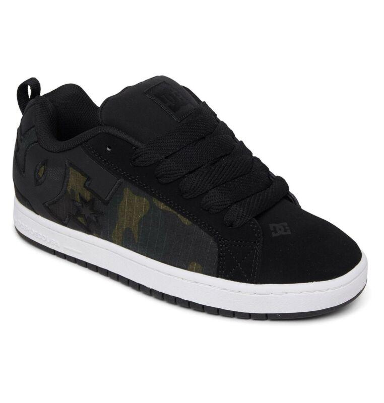 Dc Shoes Mens Court Graffik Se Leather Shoes For Men