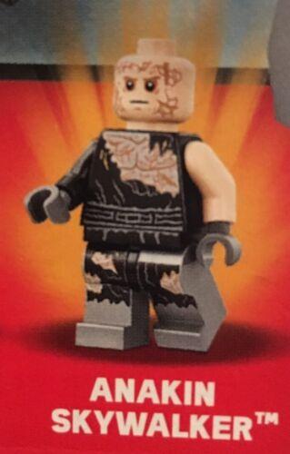 LEGO Star Wars originale Anakin Skywalker minifigura dal Set 75183 NUOVI