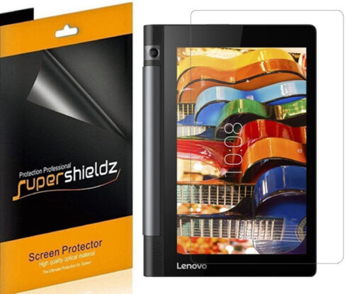 3X SuperShieldz Clear Screen Protector Shield for Lenovo Yoga Tab 3 8 inch