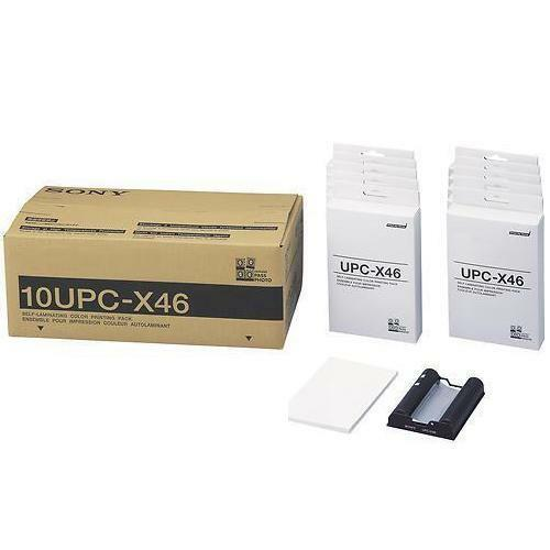 10UPCX-46 Self-laminating 4 x 6 Color Print Pack for the UPX-C200//20 system