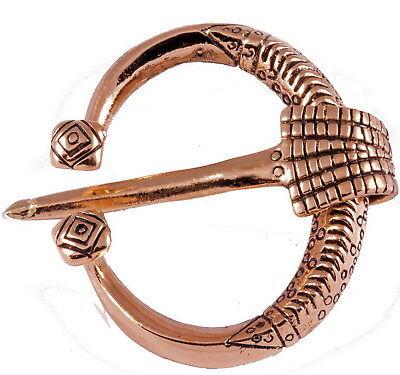 Gut Ausgebildete Ringfibel Replikat Gotland Wikinger Fibel Bronze Mittelalter Rus Slaven Slawen Hohe QualitäT Und Preiswert