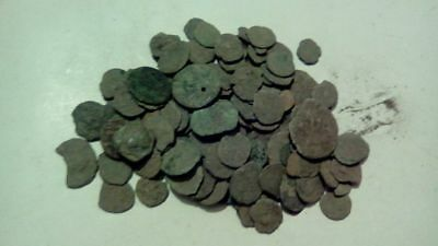 *  1 LOT OF 18 ANCIENT ROMAN CULL COINS UNCLEANED /& EXTRA COINS ADDED