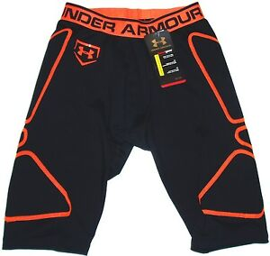 UNDER ARMOUR SLIDER SHORTS BASEBALL MENS SPORTS ATHLETIC COMPRESSIONS GAMEDAY