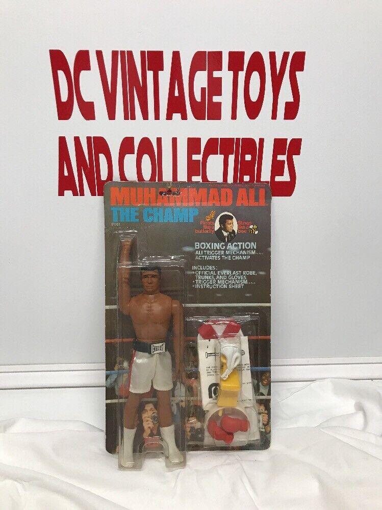 Vintage 1976 Mego Muhammad Ali Boxing Figure Doll NIP Factory Sealed-Brand New