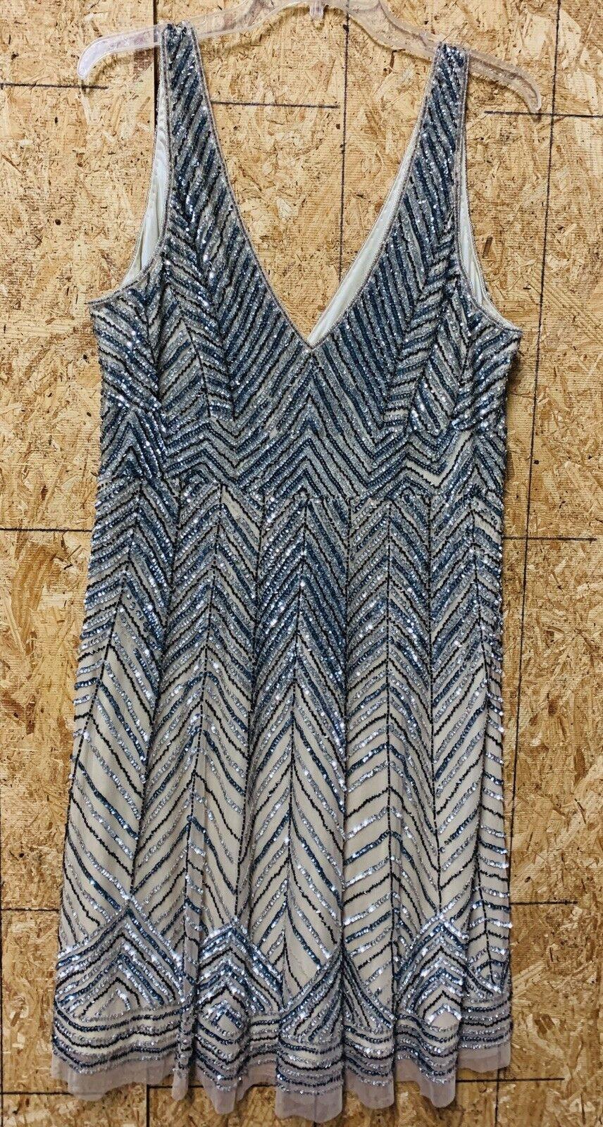 Vintage Stenay, Dress Größe 16