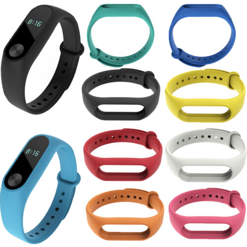Silicon Strap WristBand Bracelet Replacement for XIAOMI MI Band 2 HOT!