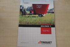 158991) Trioliet Futtermischwagen Solomix 1 Prospekt 200?