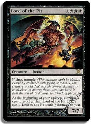 Red Tenth 10th Edition Mtg Magic Rare 1x x1 1 FOIL Manabarbs