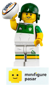 Lego-71025-Collectible-Minifigure-Series-19-No-13-Rugby-Player-New