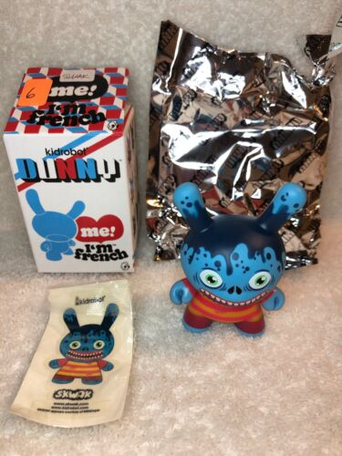 "Kidrobot French Dunny Series 3/"" Vinyl Mini Figure SKWAK"
