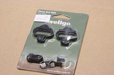 NEUF Kit de Cales pour Pédales SPD-SHIMANO SH-51 WELLGO WPD-98A Pour Velo
