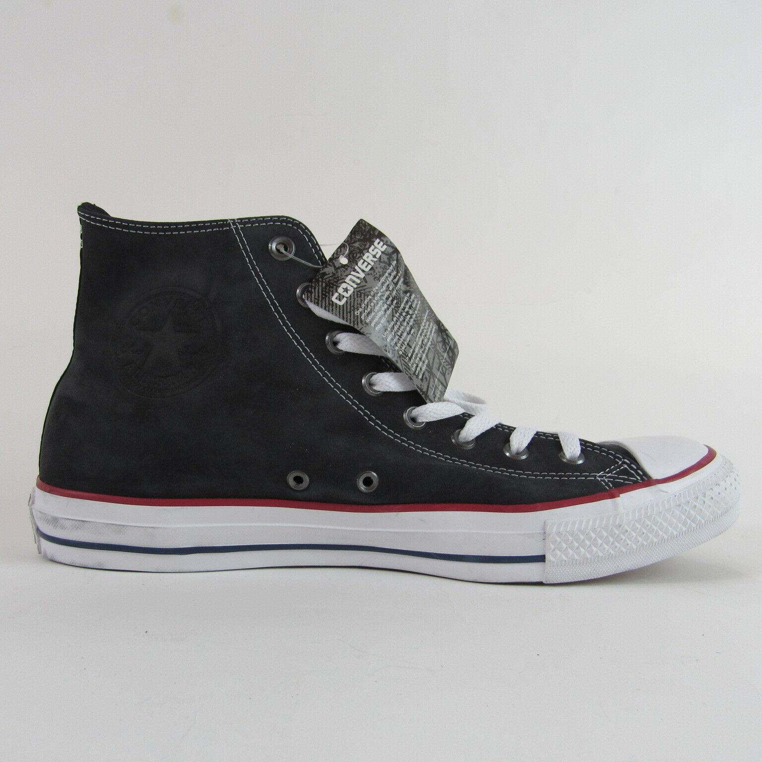 Converse All Star Chuck Taylor Hi Top Top Top Zapatos  hombres 14 Mujeres Cuero Negro Nuevo b454f1