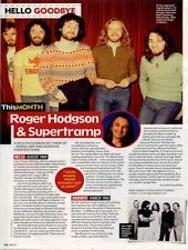 Hello, Goodbye Roger Hodgson & Supertramp Mag Cutting