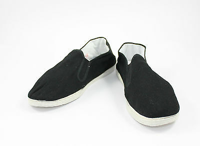 Men's Kung Fu Shoes/Slippers (White Cloth Soled) Tai Chi Martial Arts Plimsolls