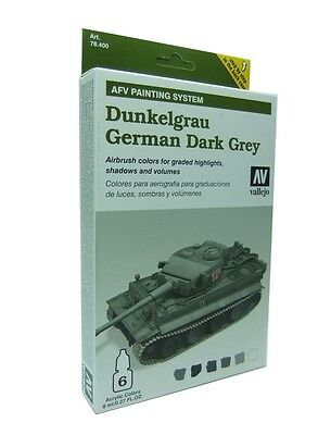 VAL78400 - Vallejo AFV Dunkelgrau Armour Painting System