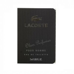 fec7f56d50 Lacoste Pour Homme for Men by Lacoste Eau de Toilette Vial Sample ...