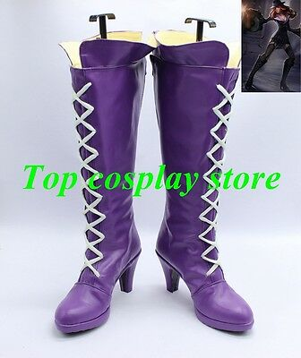 League of Legends LOL The Loose Cannon Jinx Cosplay Shoes boots shoe boot