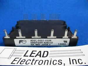 IGBT-MODULE-6MBP20RTA060-01-A50L-0001-0326-SAME-DAY-SHIPPING-AVAILABLE