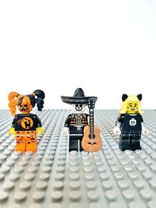 Lego Figure 3 FIGURINES SPECIAL HALLOWEEN / MONSTER