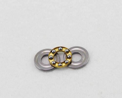 10pcs 7 x 13 x 4.5 mm F7-13M Axial Ball Thrust Bearing 3-Parts 7*13*4.5