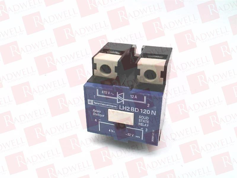 SCHNEIDER ELECTRIC LH2-BD120N   LH2BD120N (USED TESTED CLEANED)