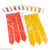 Flag Football Set - 12 Belts + 36 Flags (18 Red Flags & 18 Yellow Flags)