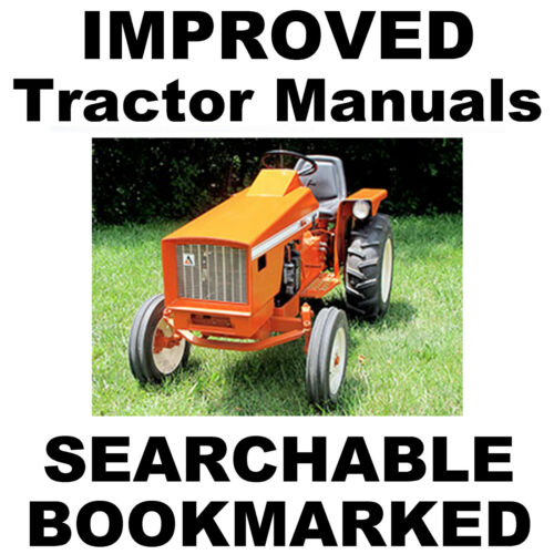 Allis Chalmers Tractor 616 620 720 FACTORY REPAIR SERVICE IMPROVED ...
