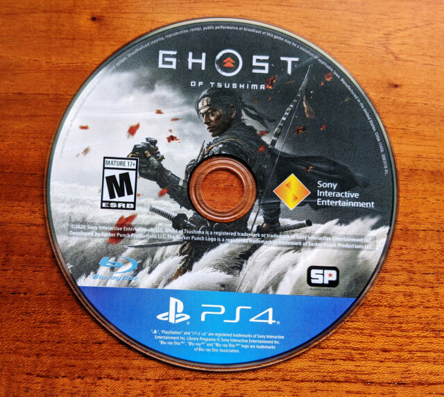 Ghost of Tsushima (PlayStation 4 / PS4) DISC only. FAST shipping! Free GIFT!