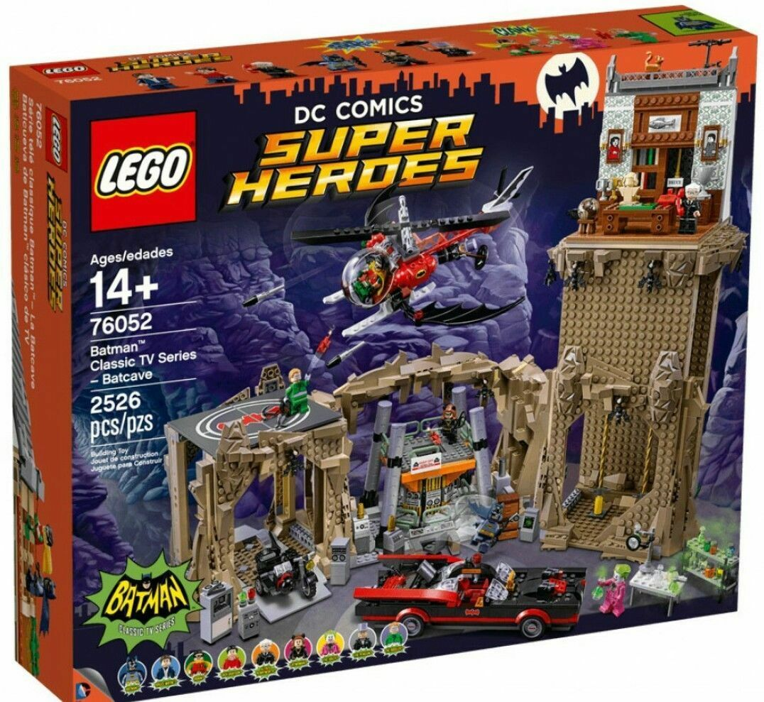 Lego 76052 Batman, La Batcave Neuf en boite scellé