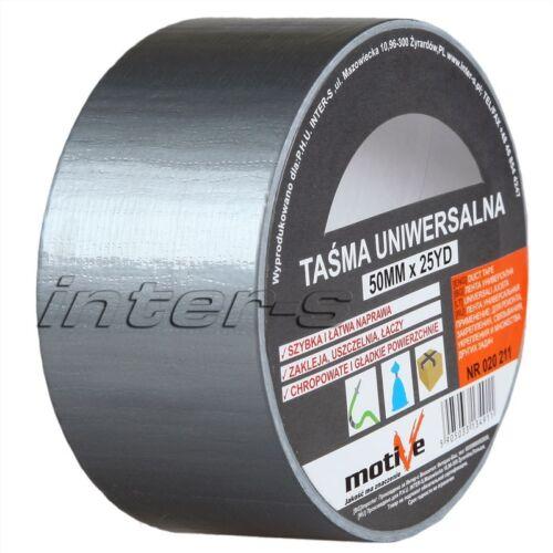 Gewebeklebeband Silber Klebeband mit Gewebe Panzerband Reparaturband Duct Tape
