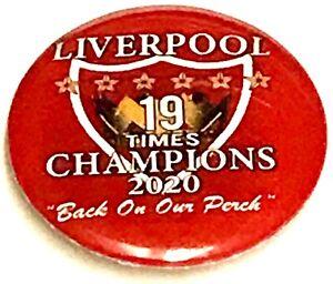 Liverpool Premier League 2020 Champions Of England Abzeichen
