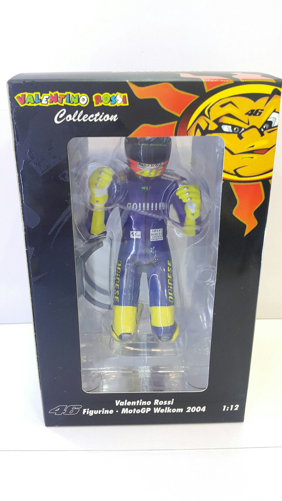 1 12 Minichamps Valentino Rossi Figure MotoGP 2004 The Kiss Welkom South Africa