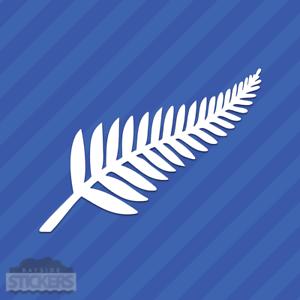 New Zealand Silver Fern Vinyl Decal Sticker Kiwi
