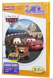 Fisher-Price-iXL-Learning-System-Software-Disney-Pixar-Cars-2-NEW-IN-BOX-GR8-4