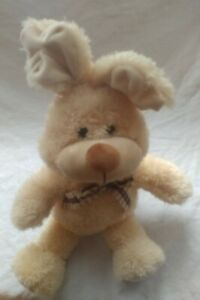 Vintage-Homerbest-Tan-Soft-Bunny-Rabbit-Stuffed-Plush-18-034