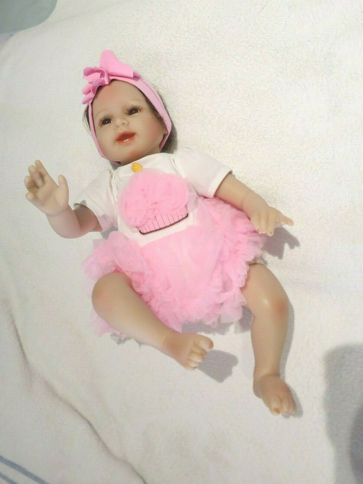 """NPK REBORN ANATOMICALLY CORRECT MAMA BABY GIRL DOLL 19"""" NEW WITH ACCESSORIES"""