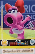Birdo Tennis No. 073 Mario Sports Superstars Amiibo Sammelkarte Karte Cards 3DS