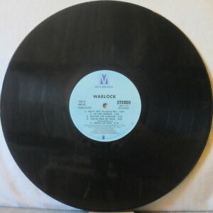 WARLOCK s/t LP Top 1970s Soul/Funk/Rock—Comes WITHOUT Cover! on Music Merchant