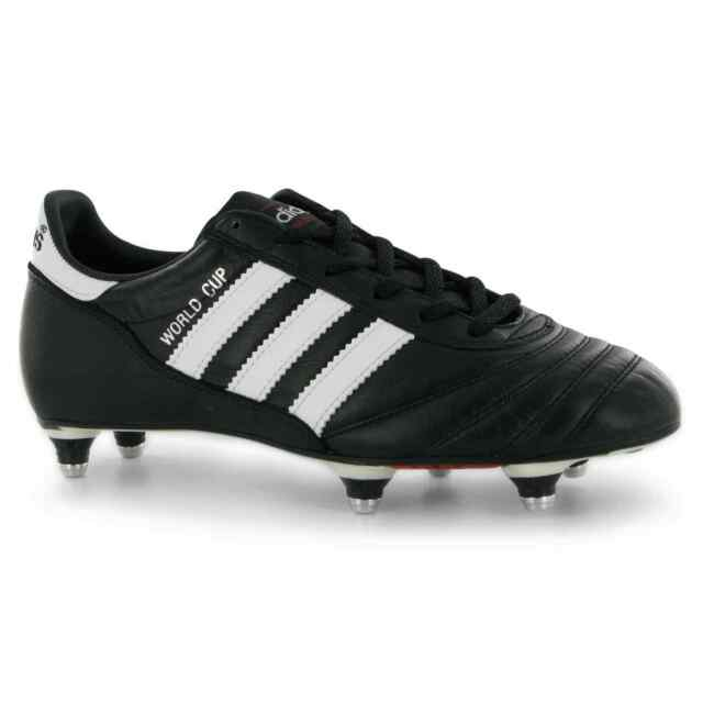 adidas World Cup SG Soccer Football Boots Lace Up Junior Boys