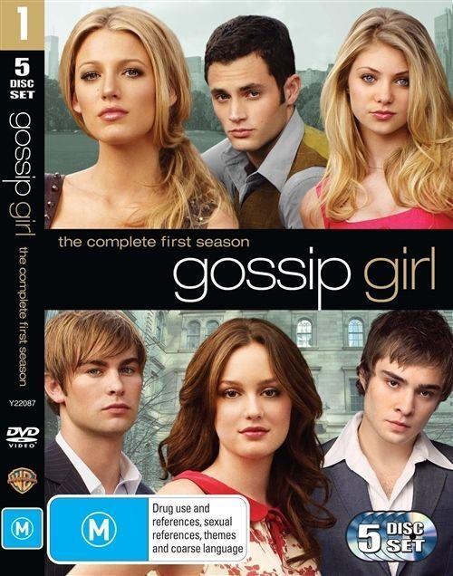 Gossip Girl : Season 1 (DVD, 2009, 5-Disc Set)
