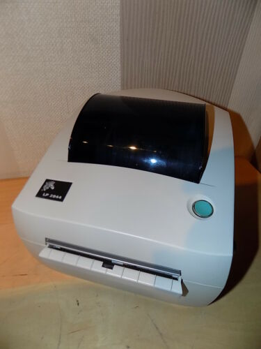 1 of 1 - ZEBRA LP2844 UPS Direct Thermal Label printer with PSU