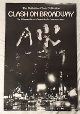 The Clash On Broadway 1991 Promo Poster Brand New Condition Joe Strummer