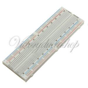 Mini MB-102 Solderless Breadboard Protoboard 830 Tie Points 2 buses Test Circuit