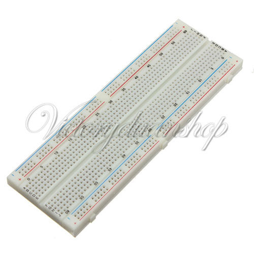 Mini MB-102 Solderless Breadboard Protoboard 830 Tie Points 2 buses Test Circuit
