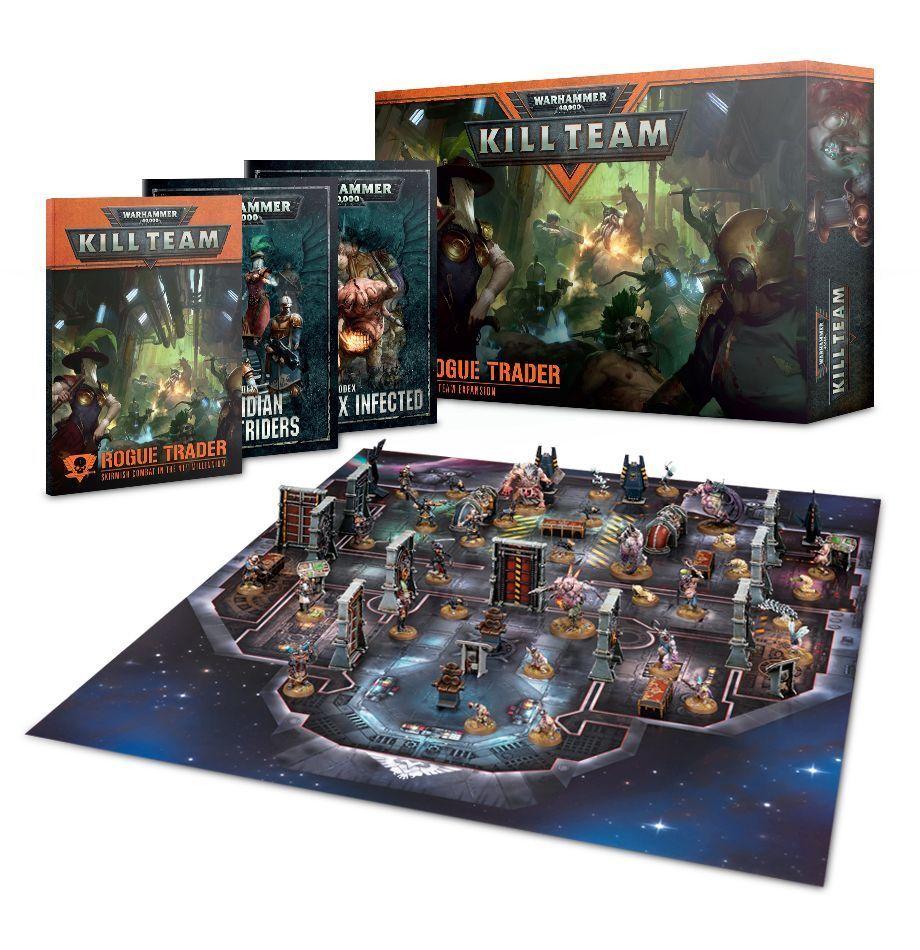 Warhammer 40k Rogue Trader expansión matar Equipo - (102-43-60) Nueva En Caja