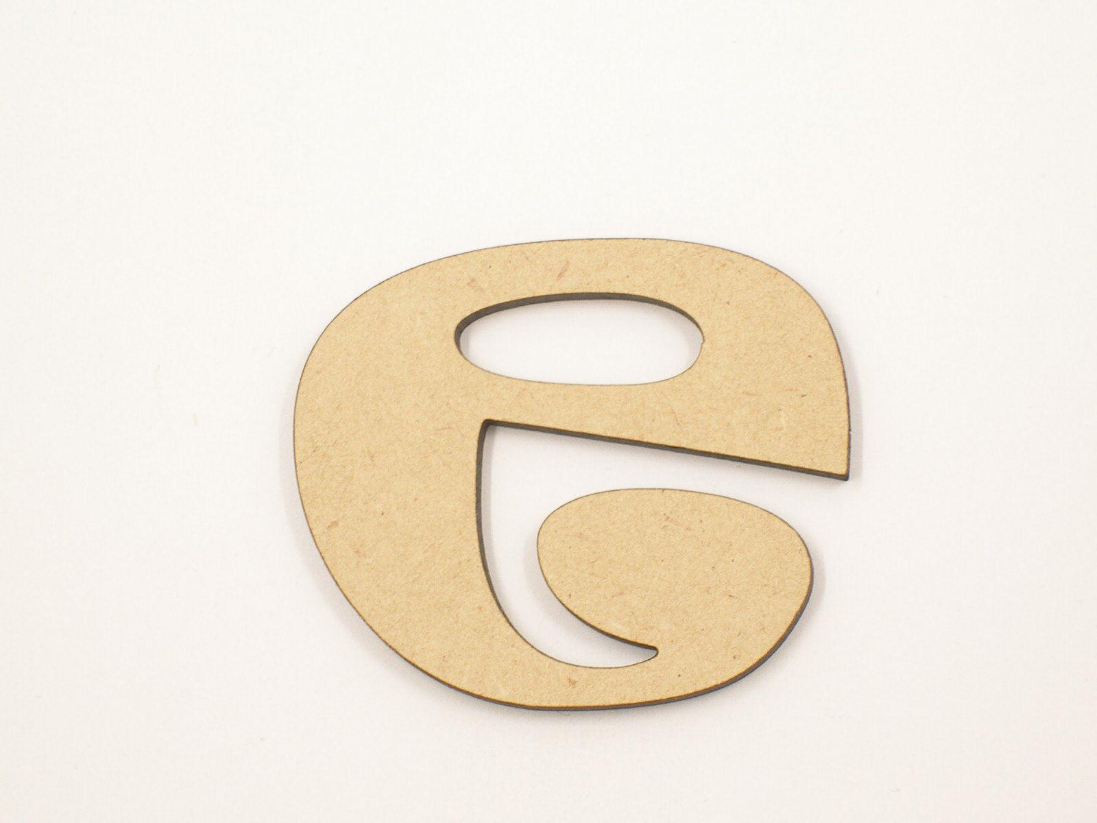 1.8mm x 20cm Large Wooden Letter Words Wood Letters Alphabet RAv Lowercase
