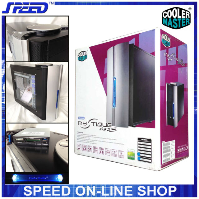 CoolerMaster RC-632S-SWN1-GP Aluminium Gaming PC Case with USB3.0 & Card-Reader