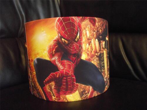 "SPIDERMAN 10/"" DRUM CEILING LAMPSHADE LIGHTSHADE"
